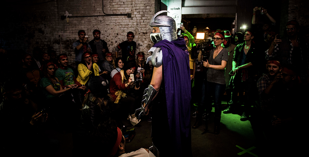 Foot Clan Costumes Adults